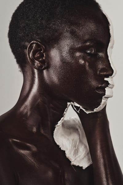 Portrait beauté artistique conceptuel