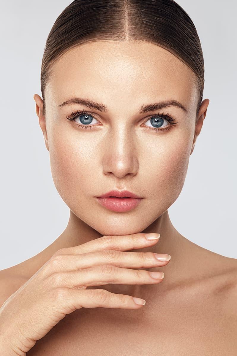 Portrait beauté cosmétique naturelle